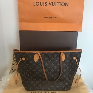100% AUTHENTIC! LOUIS VUITTON NEVERFULL MM